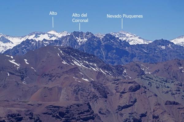 Alto del Coironal desde la Parva