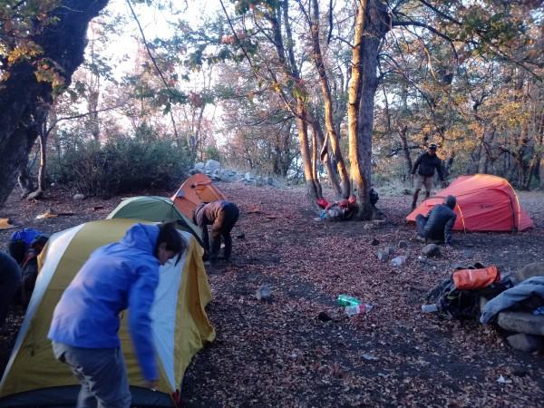 Campamento Día 1