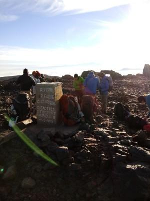 Cumbre Cerro Alto Cantillana