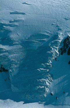 Glaciar Colgante del Plomo