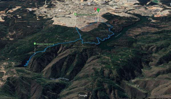Vista general de la ruta