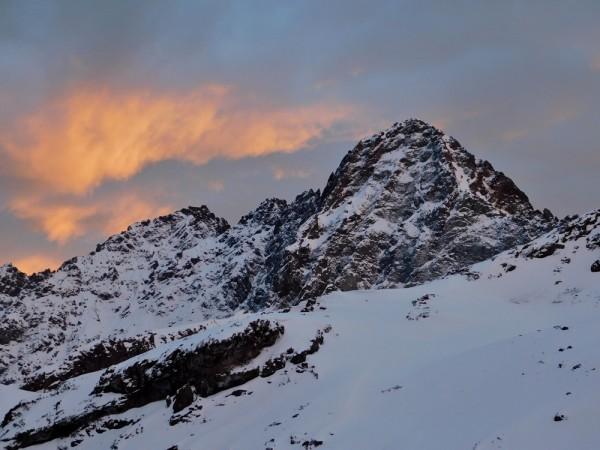 Cabeza del Inca al amanecer
