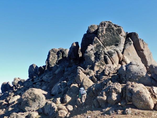 Rocas de la cumbre
