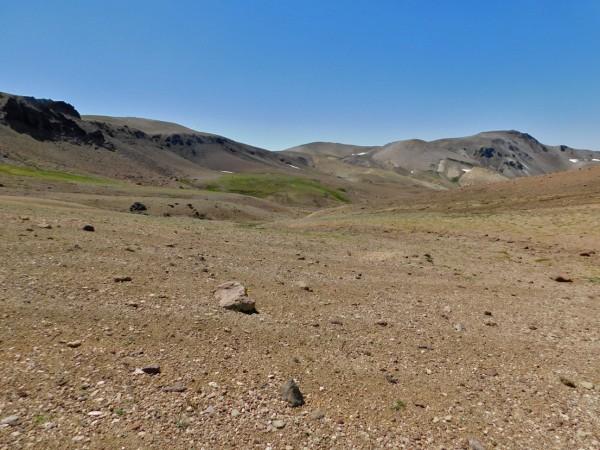 Cruzando el valle del Pelehue