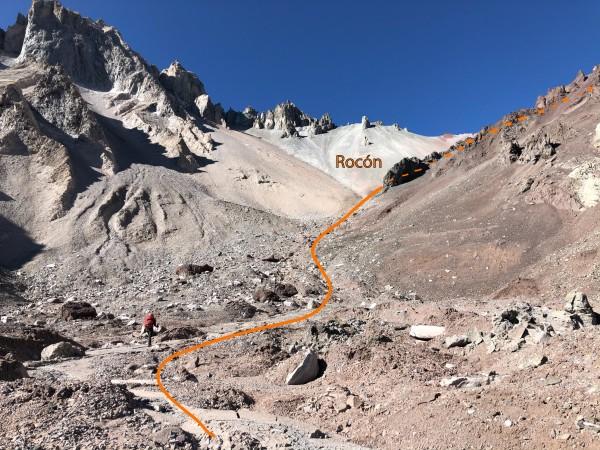 Glaciar de Roca
