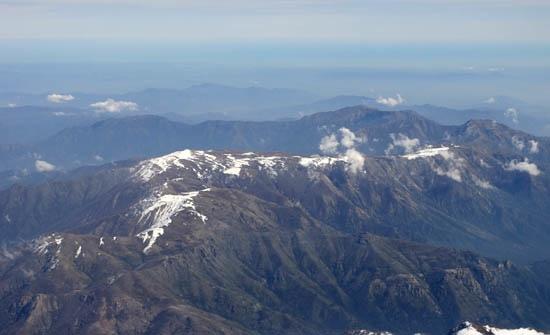 Vista aérea desde el este