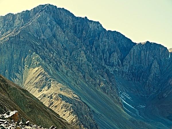 Cerro Littoria desde el oeste