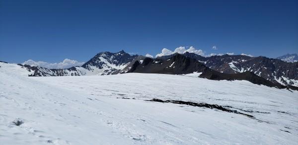 Paso superior glaciar Palacios