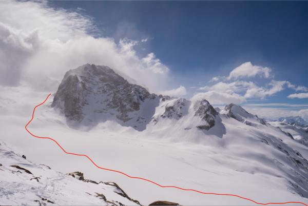Glaciar Cortaderal
