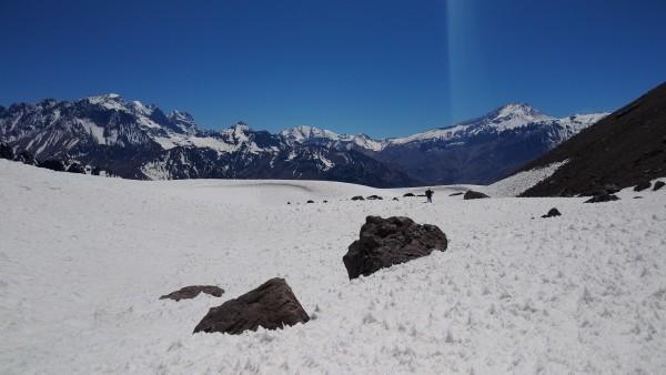 Plateau antes de la canaleta