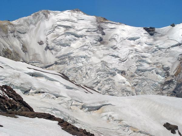 Glaciar sur del Seler
