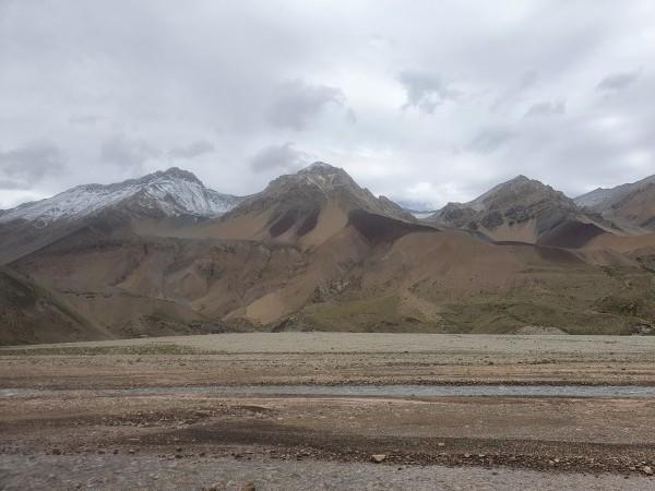 Panorámica del cerro Caprinos