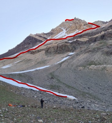 Vista ruta ascensión