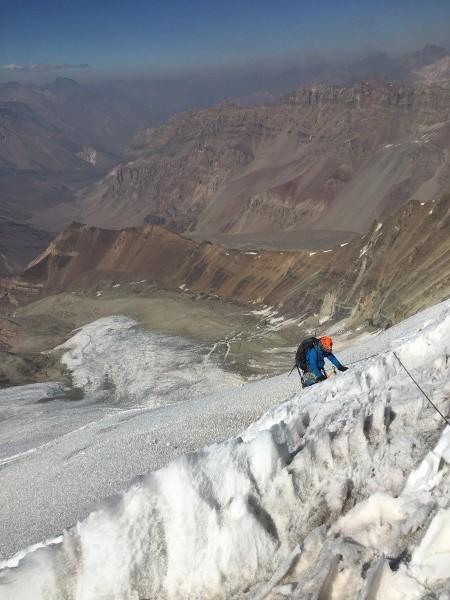 Glaciar sur Sierra Bella