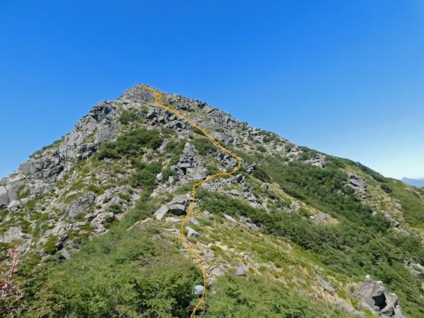 Ascenso del cerro Innominado