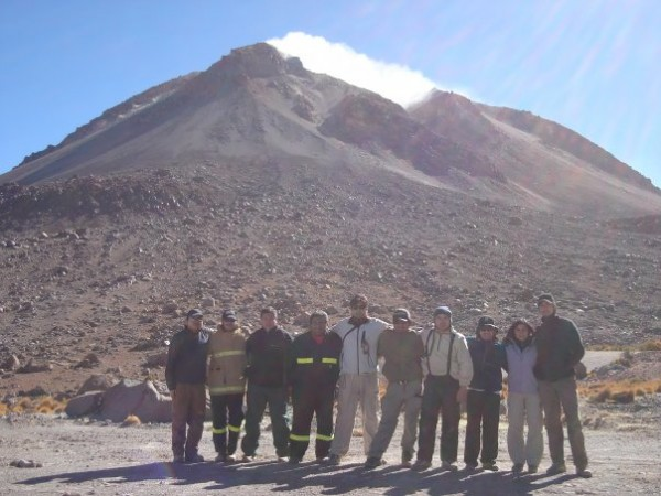 Campo base Volcán Irruputuncu