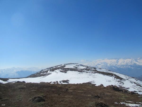 Cumbre cerro La Tinaja