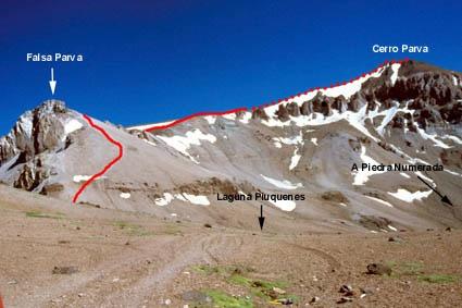 Ruta Clásica al Cerro La Parva