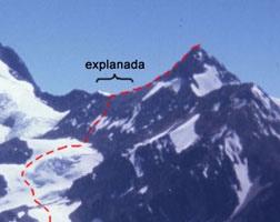 Detalle de tramo cumbrero