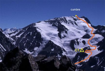 Ascensión cerro Loma Larga