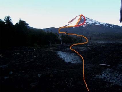 Ruta de la Ladera Norte - Laguna Captrén
