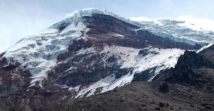 Chimborazo desde el refugio