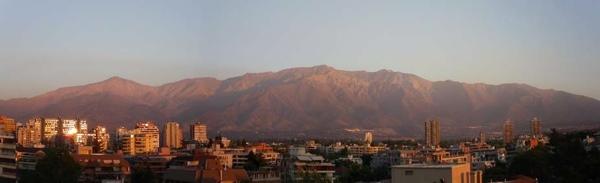 Vista panorámica de la Sierra de Ramón