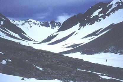 Aproximacion por el valle de Lo Valdés