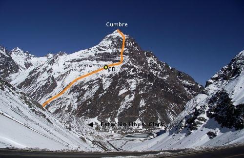 Cara norte del Alto de la Posada