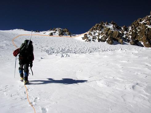 Plateau Superior del Glaciar.