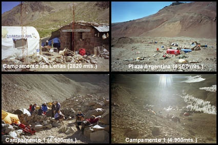 Algunos Campamentos