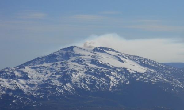 Erupcion Copahue 2012