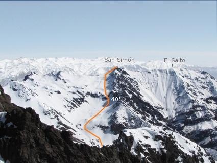 San Simón desde Retumbadero Norte