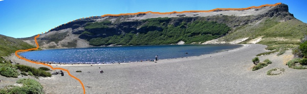 Cráter del Batea Mahuida