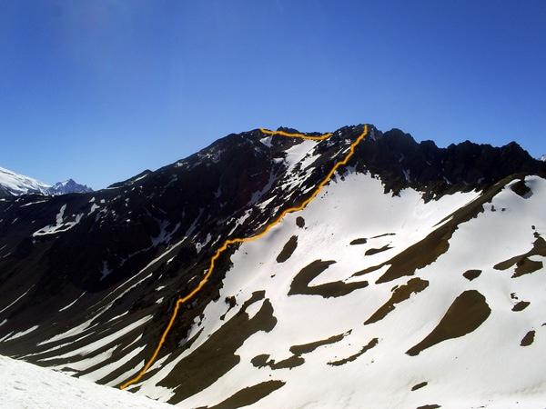 Arista Oeste Cerro Vega.