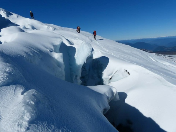 Grietas del Glaciar