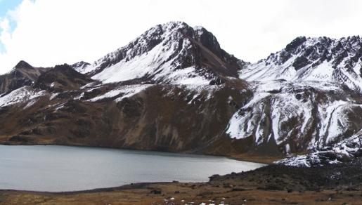 Austria y laguna Chiar Khota