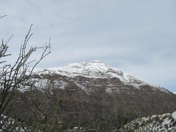 Las Lajas Cara Oeste Invernal