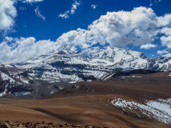 Cerro Leonera y Cerro El Plomo