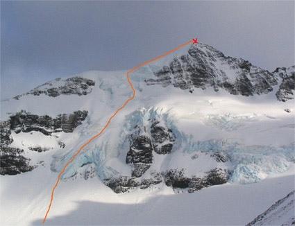 Monte Ferrier, Cumbre Sur