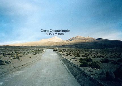 El Choquelimpie desde Parinacota