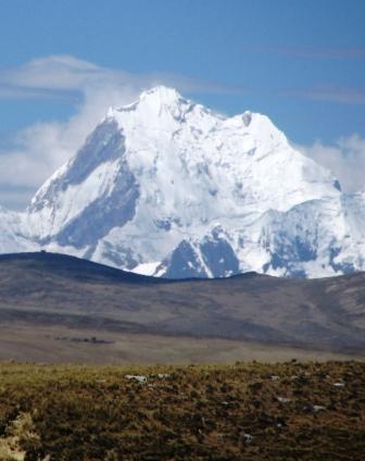 Yerupajá desde la carretera a Huaraz