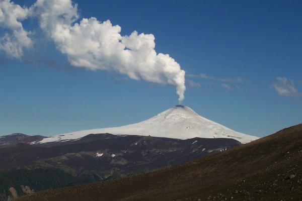 Villarrica humeante