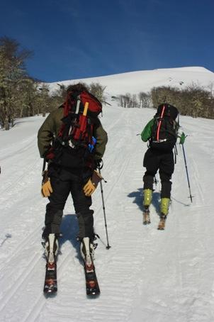 Comienzo de la ruta invierno/primavera