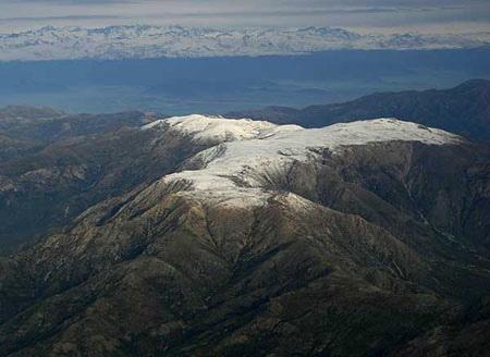 Vista Aerea desde el oeste