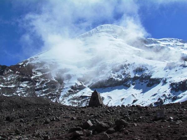 Chimborazo desde Refugio Whymper