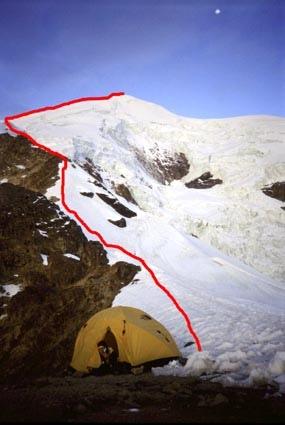 Campo Nido de Cóndores, 5400 m