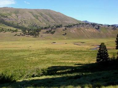 Vista valle Pulul.
