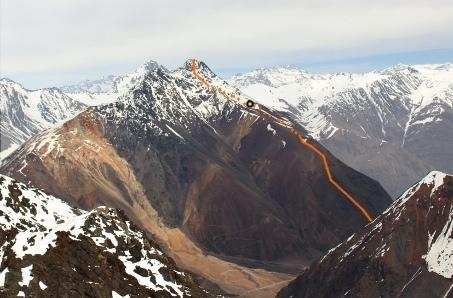Vista del Retumbadero desde el Norte