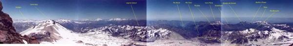 Vista panorámica desde la cumbre